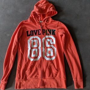 PINK Victoria's Secret Tops - Victoria Secret PINK zip hoodie